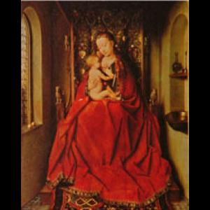 Portrait of the Virgin Mary with her child